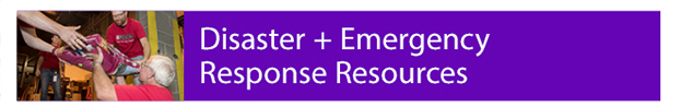 Disaster Support emergency grant resources