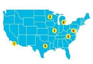 Adoption Options Conference 2020 Location Map