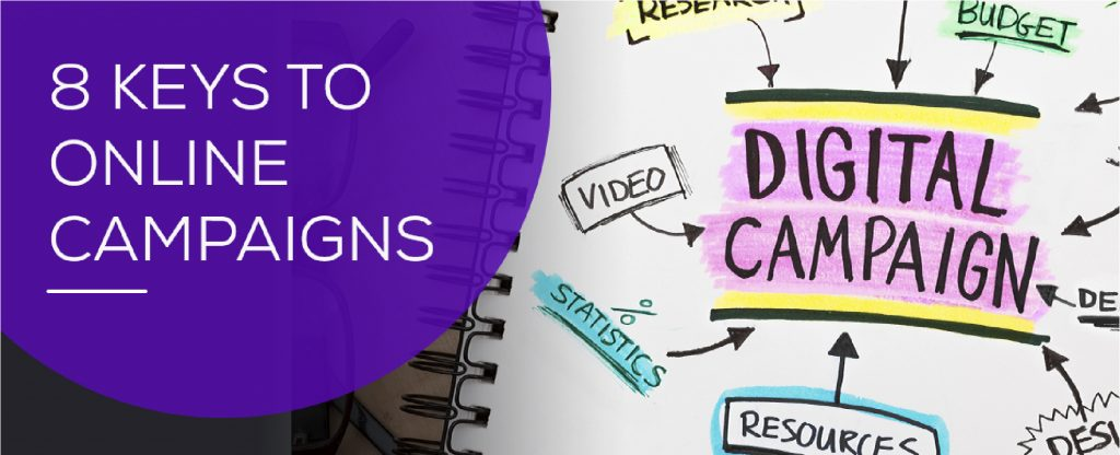 8 Keys to Online Campaigns